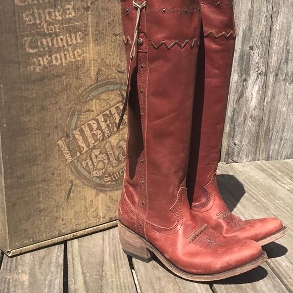 liberty black tall boots